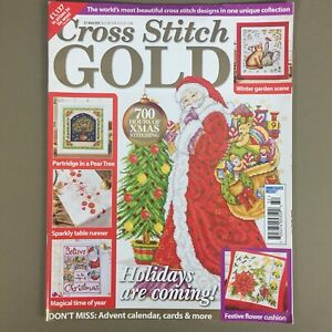 Cross Stitch Gold UK craft magazine Nov Dec 2016 Issue 57 Christmas Santa Winter