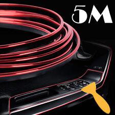 5M Rosso Car Styling Strisce Bordo Decalcomanie Porte Interne Adesivi per Auto