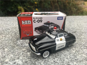 Tomy Tomica Disney Pixar Car C09 Sheriff Metal Diecast Toy Cars New
