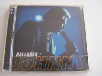 CD JOHNNY HALLYDAY , BALLADES , 2 CD  , 37 TITRES , 1999 , BON ETAT .