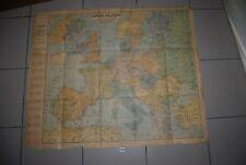 AF1 Ancienne carte - Europe Politique en 1940 - Main Mise allemenade ou russe