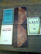 Lot de 5 livres Maxence van der Meersch : l'élu L'empreinte du dieu ...