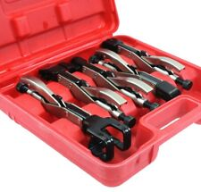 5Pc Fabrication Locking Clamp Welding Pliers Set Types  W, T, L, J, LL, JJ