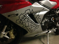 MV Agusta F3 675 Corse over sized carbon fiber graphics