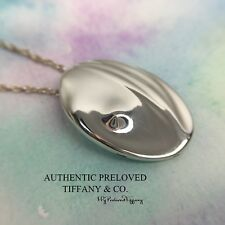Excellent Authentic Tiffany & Co. LARGE Elsa Peretti Virgo Silver Necklace