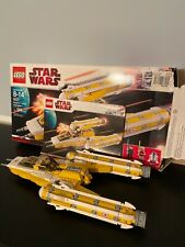 Lego Star Wars Anakins Y-Wing Starfighter 8037 Complete w/ box+manual, w/o figs