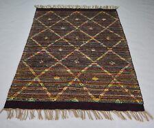 Handmade Novelty Design Jute & Cotton & Mix  4x6 Feet Decorative Rug