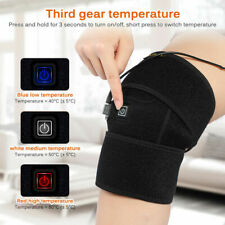 Electric Knee Relief-Pain Heated Pad Warmer Heating-Therapy Wrap Brace Arthritis