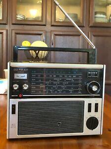 Sony TFM-1600W 6 bands FM/MW/SW super sensitive, AC/DC