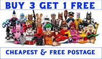 LEGO BATMAN MOVIE SERIES 1 MINIFIGURES 71017 PICK CHOOSE + BUY 3 GET 1 FREE