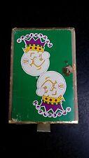 Vintage playing cards Reddy Kilowatt Mardis Gras theme used utility company