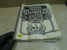 Volkswagen How To Keep Alive Used Manual Handbook VP 70s VP-CM353