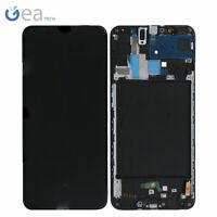 SAMSUNG Display LCD Originale + Touch Screen Per Galaxy A70 SM-A705F Nero