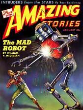 Comics historias sorprendentes Mad Robot Pistola Láser Sci Fi impresión de arte posterabb 6367B