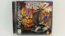 Twisted Metal 2 - PS1 Black Label Complete Playstation Game CIB