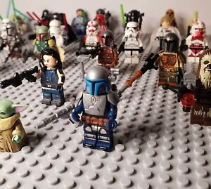 20x Star Wars Minifigures Lot - USA SELLER