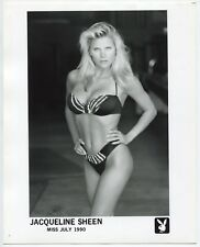 Playboy - Playmate Jacqueline Sheen 1990 - Pin Up - 2 Photos Argentiques - Sexy
