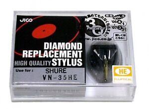 Jico Hyper Elliptical Stylus Vn35he for Shure V15/III Free Shipping