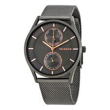 Skagen SKW6180 Holst Multifunction Gray Stainless Steel Mesh Unisex Watch