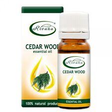 RIVANA Cedar Wood 100% Natural Essential Oil #Antiseptic & Antibacterial # 10ml