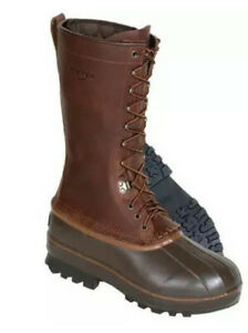 "Kenetrek Tall 13"" Northern Pac Hunting Boots Brown Men Sz 8"