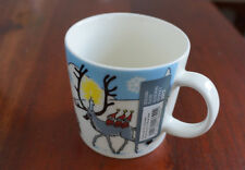 MUMIN Tasse/Becher WINTER FOREST Winter 2012 MUUMI/MOOMIN Mug Arabia RAR!