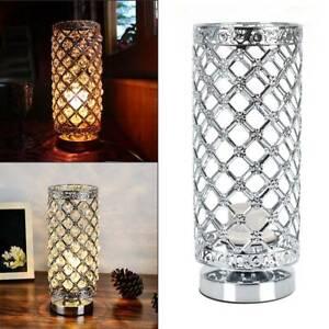 Crystal Table Lamp Aooshine Modern Design Crystal Bedside Table Lamp Warm Light