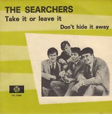 """SEARCHERS, THE – Take It Or Leave It (1966 SINGLE 7"""" DUTCH ENVELOPPE COVER)"""