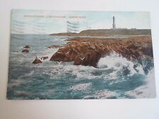 Vintage Postcard GIRLENESS LIGHTHOUSE, ABERDEEN Franked+Stamped 1923  §A176