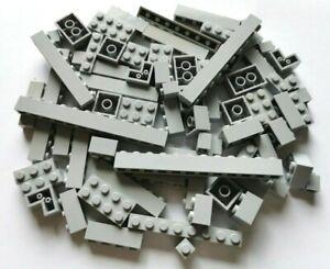 LEGO® Basic 75 Stück Bausteine in neu-hellgrau 1x1-1x12 2x2-2x4 Konvolut