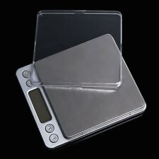 0.1-2000G Precision Digital Scale GOLD SILVER COIN POCKET JEWELRY GRAM HERB UK