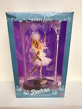 Swan Lake ~ BARBIE Musical Ballerina Doll #1648 Mattel Music Box