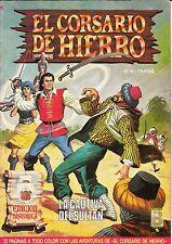 EL CORSARIO DE HIERRO (ed. histórica) nº: 16 (de 58 d colección completa. ed. B)