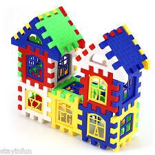 24PCS New Children DIY House Building Blocks Construction Brain Development Toy