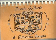 *CHICAGO IL VINTAGE *COUNCIL FOR EXCEPTIONAL CHILDREN COOK BOOK *MUNCH-A-BUNCH