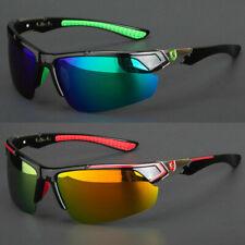 HD Sport Wrap Men Cycling Baseball Golf Ski Sunglasses Fishing Driving Glasses