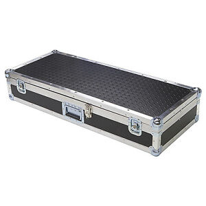 """Diamond Plate Light Duty 1/4"""" ATA Case for Nord Electro 4 HP Keyboard"""