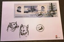 Greenland Post Official FDC 2007.11.08. Expeditions Paul-Emile Victor - Block