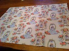 unused sheet vintage gift wrap Wedding Cake Bridal Shower Marriage Bride & Groom