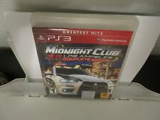 Midnight Club: Los Angeles Complete edition  (Playstation 3 PS3, 2009) W/ Manual