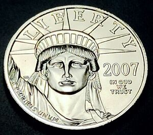 2007 P American Platinum Eagle 1/2 oz $50 Mint Strike
