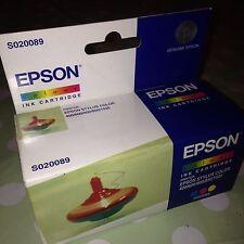 Cartucho de tinta de impresión original EPSON Color Impresora STYLUS 400 Etc S020089 Nuevo