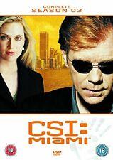 CSI Miami The Complete Season 3 - DVD Region 2