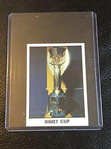 Panini - World Cup Argentina 78 - #1 Rimet Cup -  Sticker-RARE