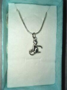 Monkey Pendant Necklace