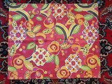 Shabby Boho Mod Pottery Barn Jillian Multi-Color Floral Standard Sham Vguc