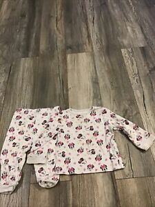 Baby Girl Minnie Mouse Pyjamas 9-12 Months