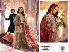 PAKISTANI SHALWAR KAMEEZ DESIGNER SUITS SHARARA PLAZZO WEDDING DRESS PARTYWEAR