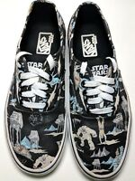 Vans Star Wars Darkside Hoth Lo Pro lace Up Off the Wall Unisex  Men 8 Women 9.5