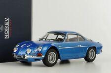 Renault Alpine 1600S A110 1971 Bleu Métallique 1:18 Norev 185300